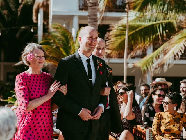 Hans and Agatha's Wedding in Tulum, Mexico 62