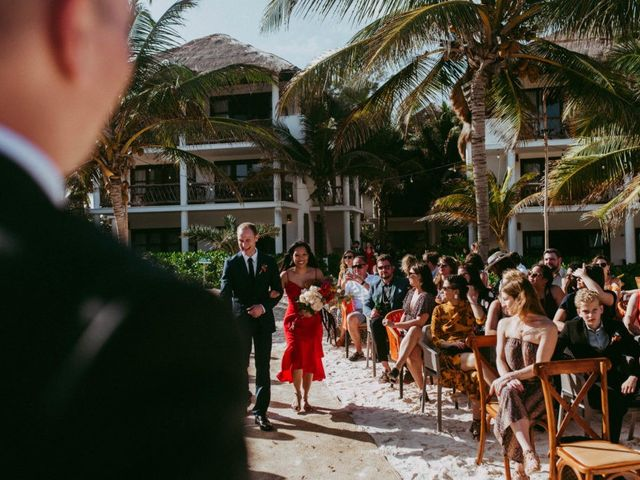 Hans and Agatha's Wedding in Tulum, Mexico 64