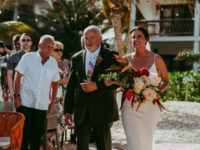 Hans and Agatha's Wedding in Tulum, Mexico 65