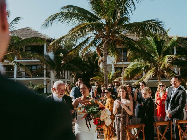 Hans and Agatha's Wedding in Tulum, Mexico 66