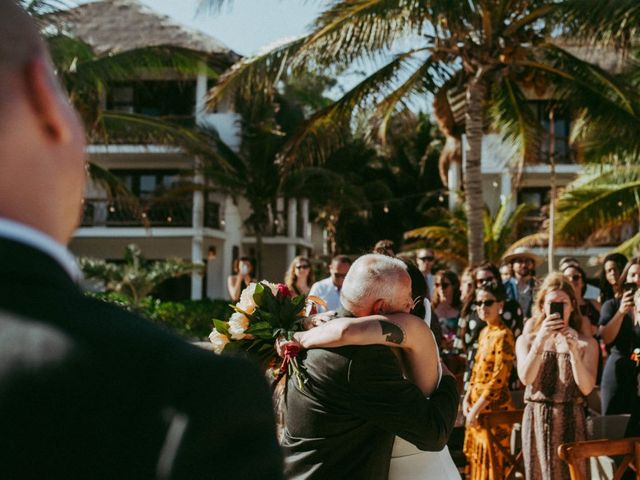 Hans and Agatha's Wedding in Tulum, Mexico 67