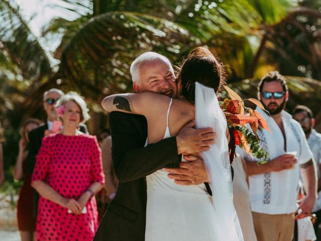 Hans and Agatha's Wedding in Tulum, Mexico 68