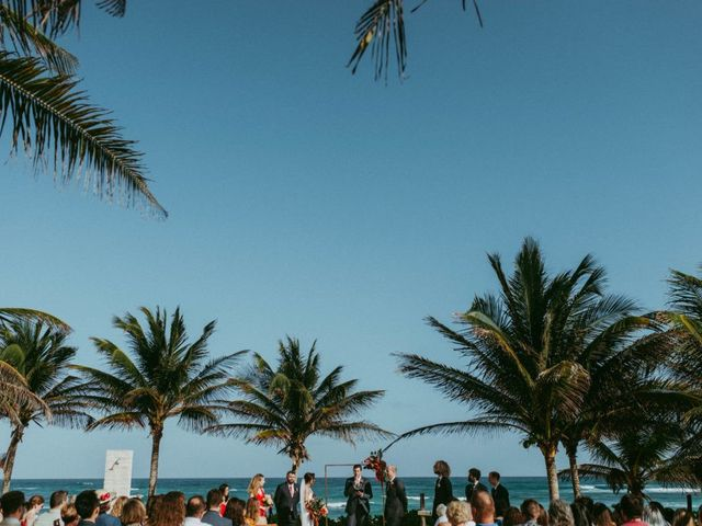 Hans and Agatha's Wedding in Tulum, Mexico 69