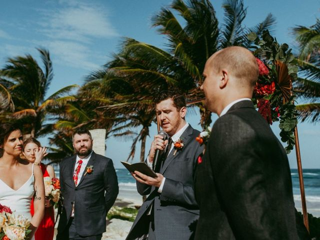 Hans and Agatha's Wedding in Tulum, Mexico 70