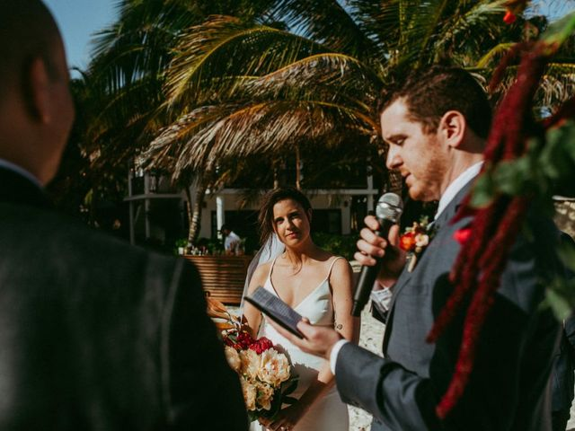 Hans and Agatha's Wedding in Tulum, Mexico 71