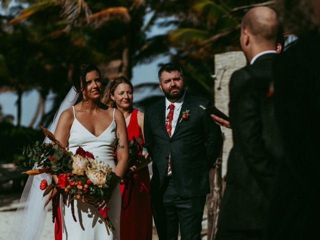 Hans and Agatha's Wedding in Tulum, Mexico 73
