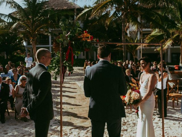 Hans and Agatha's Wedding in Tulum, Mexico 75