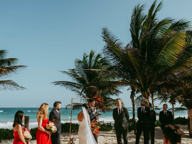 Hans and Agatha's Wedding in Tulum, Mexico 77