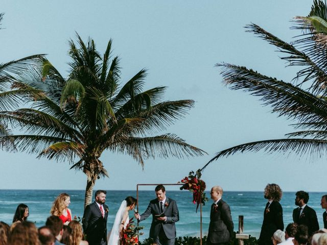 Hans and Agatha's Wedding in Tulum, Mexico 78