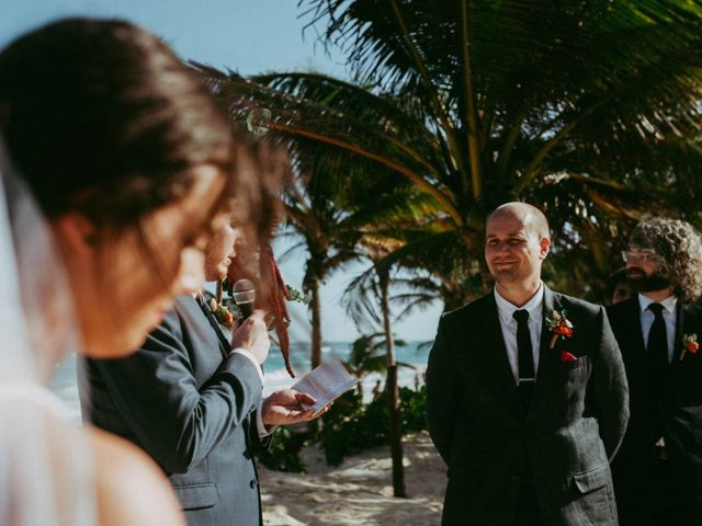 Hans and Agatha's Wedding in Tulum, Mexico 79