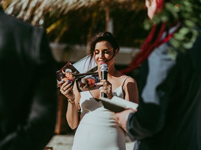 Hans and Agatha's Wedding in Tulum, Mexico 81