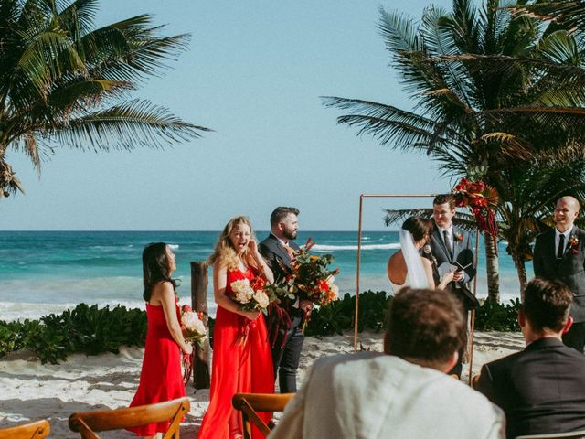 Hans and Agatha's Wedding in Tulum, Mexico 82