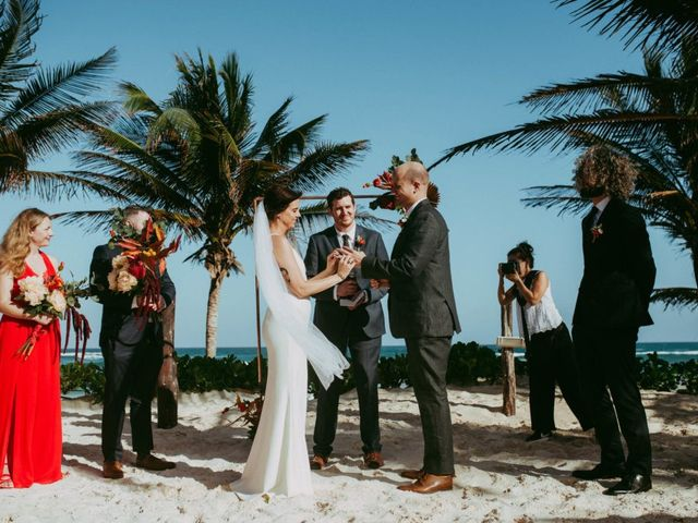 Hans and Agatha's Wedding in Tulum, Mexico 87