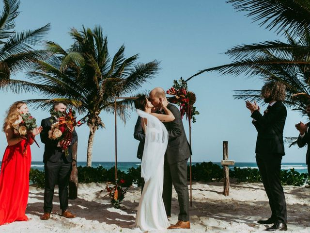 Hans and Agatha's Wedding in Tulum, Mexico 88