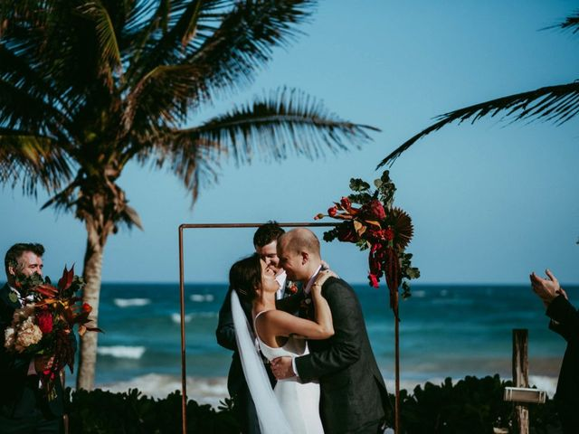 Hans and Agatha's Wedding in Tulum, Mexico 89