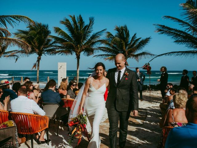 Hans and Agatha's Wedding in Tulum, Mexico 90