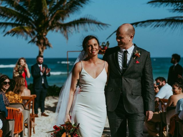 Hans and Agatha's Wedding in Tulum, Mexico 91