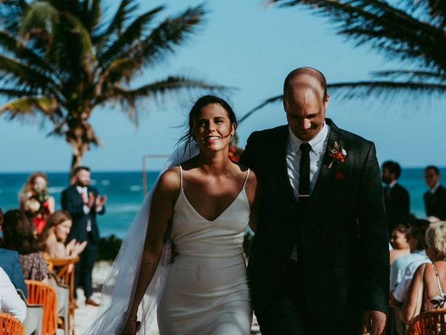 Hans and Agatha's Wedding in Tulum, Mexico 92