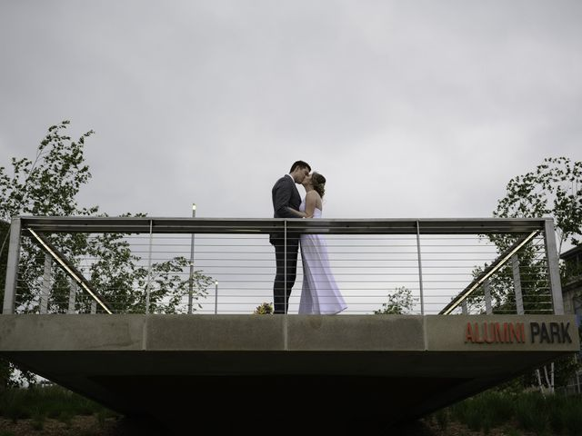 The wedding of Katie and Tom