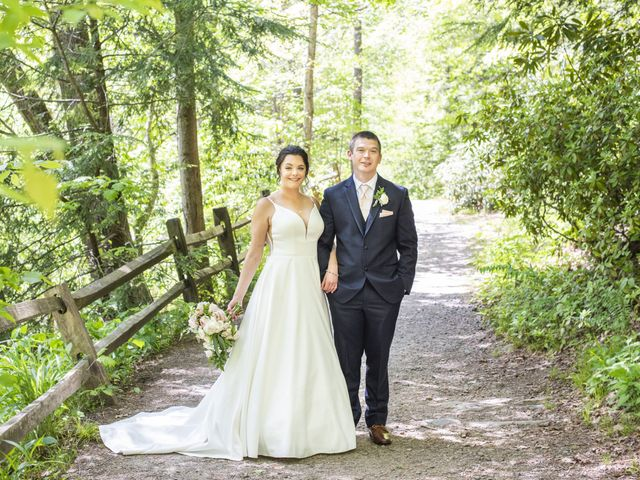 The wedding of Brittani and Aaron