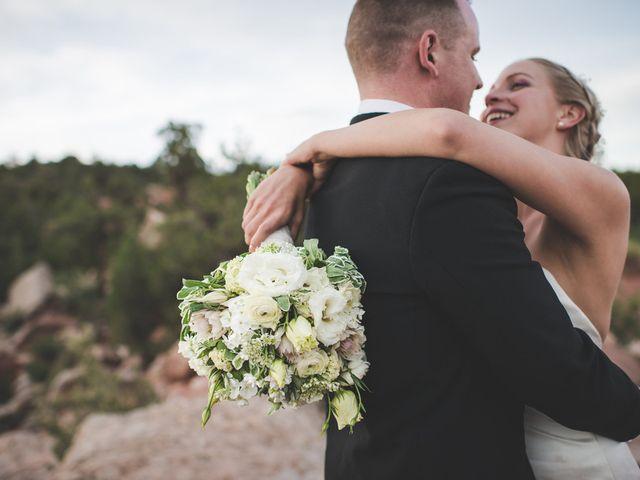 Lindsey and Patrick's Wedding in Colorado Springs, Colorado 10