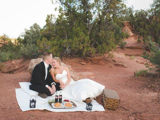 Lindsey and Patrick's Wedding in Colorado Springs, Colorado 15