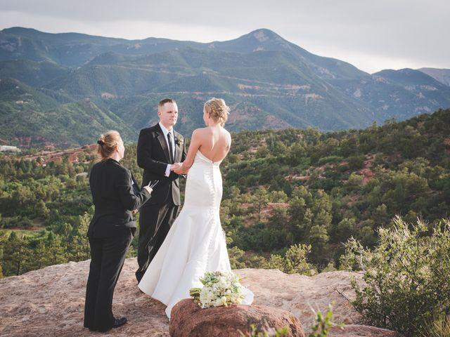 Lindsey and Patrick's Wedding in Colorado Springs, Colorado 12