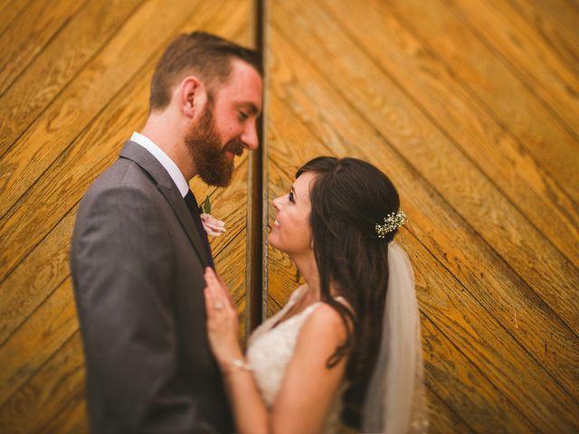 The wedding of Stephen and Helena