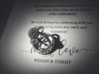 The wedding of Megan and Tommy 1