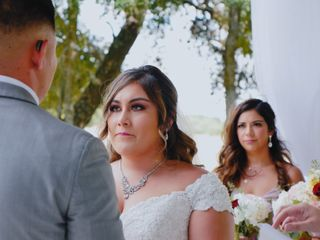 The wedding of Yaricsa and Jake 1