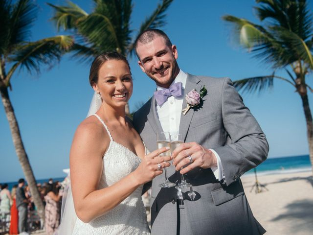 The wedding of Megan and Tommy