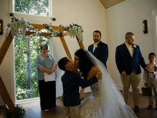 Amber and Jonathan's Wedding in Dahlonega, Georgia 9