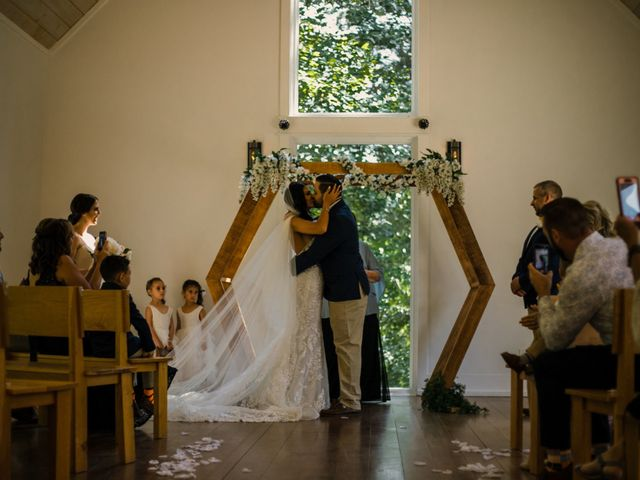 Amber and Jonathan's Wedding in Dahlonega, Georgia 11