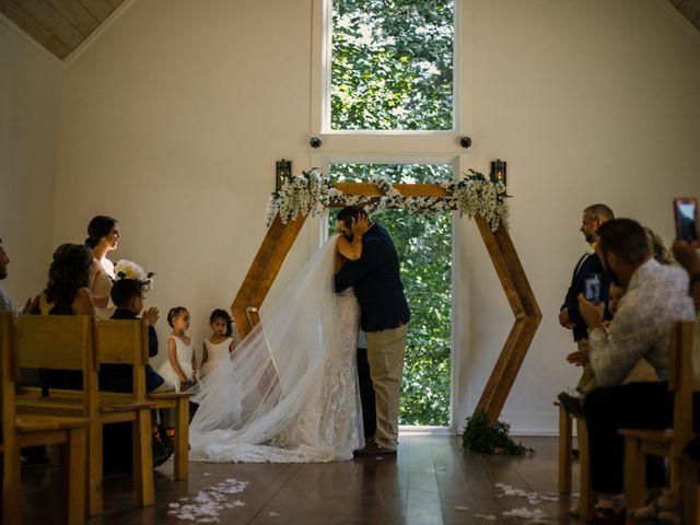 Amber and Jonathan's Wedding in Dahlonega, Georgia 12