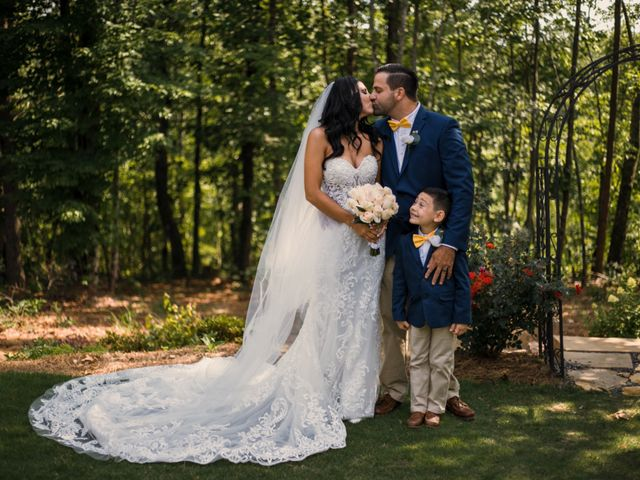 Amber and Jonathan's Wedding in Dahlonega, Georgia 13