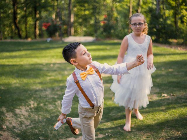 Amber and Jonathan's Wedding in Dahlonega, Georgia 22