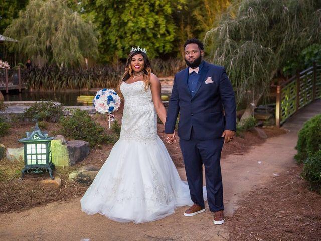 The wedding of Amanda and Solomon