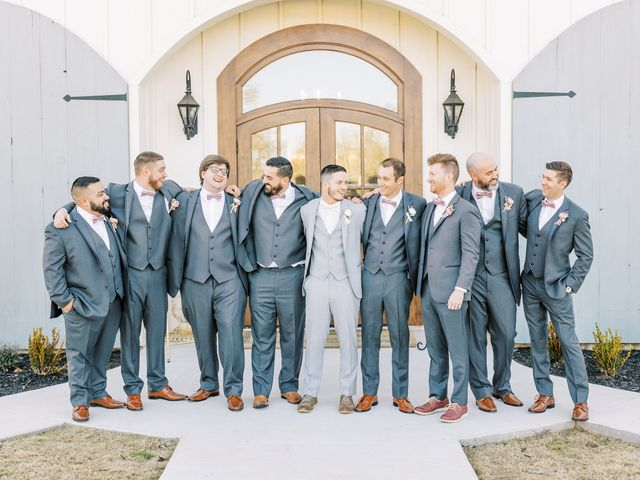 Aaron and Emily's Wedding in Collinsville, Texas 11