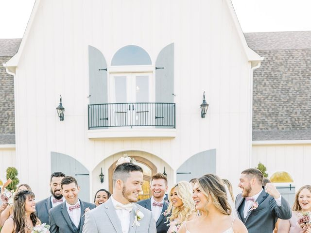 Aaron and Emily's Wedding in Collinsville, Texas 12