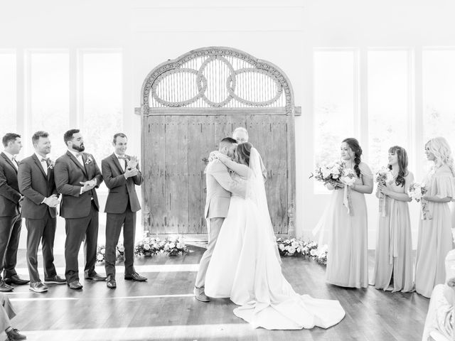 Aaron and Emily's Wedding in Collinsville, Texas 20