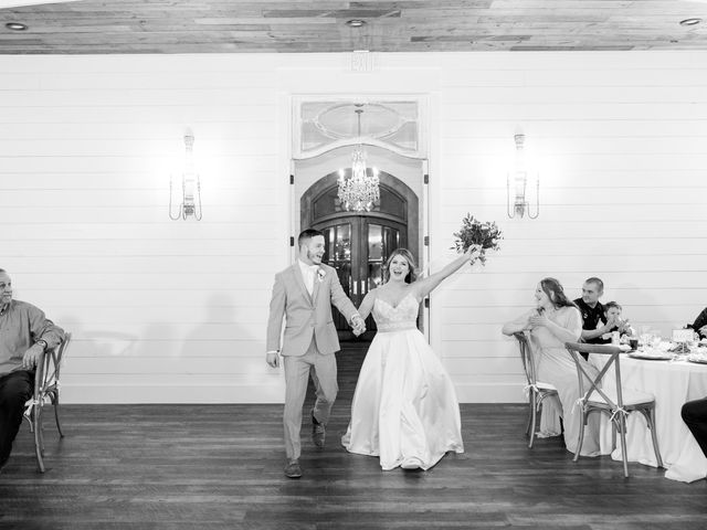 Aaron and Emily's Wedding in Collinsville, Texas 28