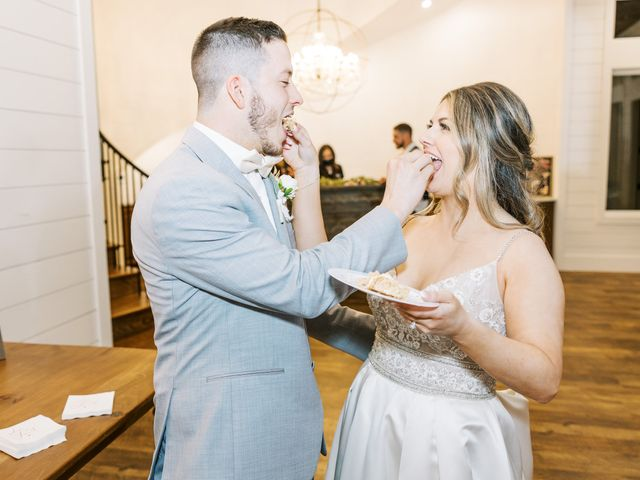 Aaron and Emily's Wedding in Collinsville, Texas 30