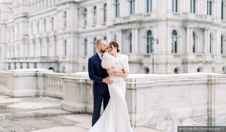 David and Mila's Wedding in Albany, New York