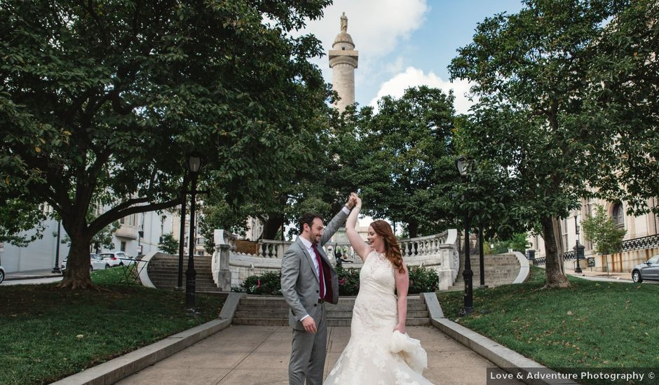 Colin and Paige's Wedding in Baltimore, Maryland