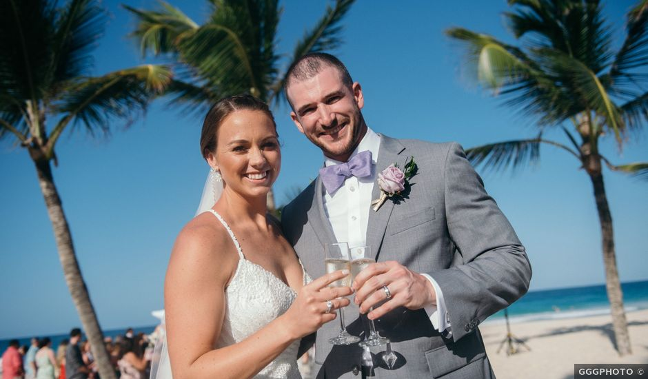 Tommy and Megan's Wedding in Bavaro, Dominican Republic