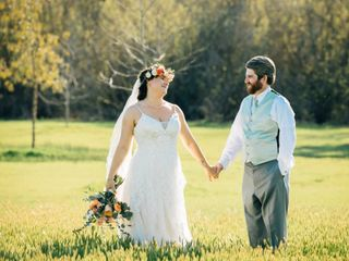The wedding of Summer and Hugh 1