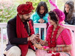 The wedding of Radha and Vikram 1