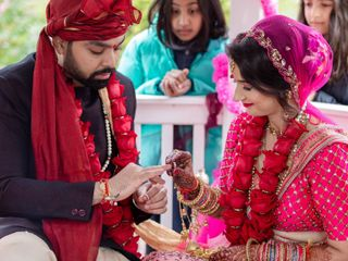 The wedding of Radha and Vikram 2