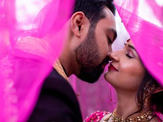 The wedding of Radha and Vikram