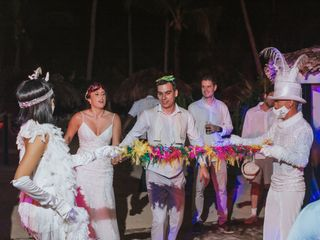 The wedding of Constanza and Jose 1